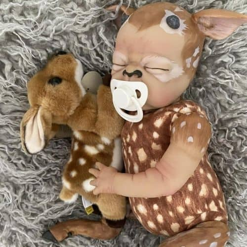 Fawna Deer Reborn Baby (Plush Included)