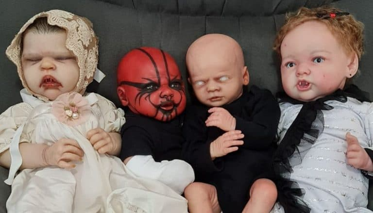 Fantasy Reborns on Couch