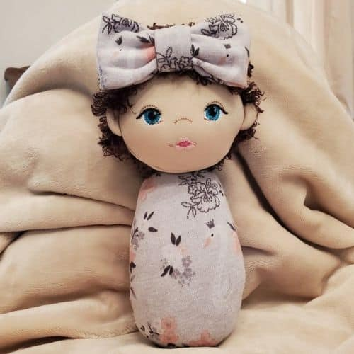 Down Syndrome Swaddle Sweetie Doll